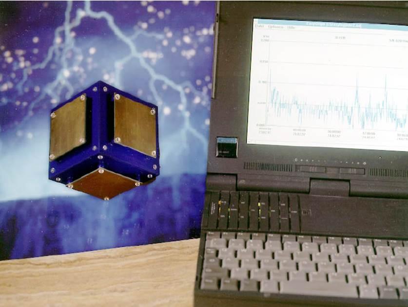 Elektrosmog-Messung mit 3D-Würfel